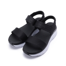 SKECHERS D LUX WALKER 休閒涼鞋 黑 119226BLK 女鞋