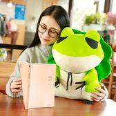 旅行的青蛙周邊抱枕二次元旅游玩偶毛絨玩具公仔崽崽娃娃手辦模型DSHY
