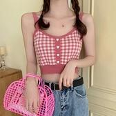 背心 辣妹吊帶背心女裝夏季內搭法式設計感抹胸打底短款上衣外穿潮ins 艾莎