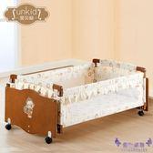 圣貝奇嬰兒搖籃床新生兒bb搖床寶寶歐式環保實木嬰兒床搖籃帶蚊帳