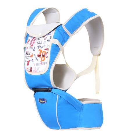 透氣多功能嬰兒前抱式腰凳橫抱式HL4419『伊人雅舍』