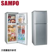 【SAMPO聲寶】140L雙門冰箱SR-A14Q(S6)