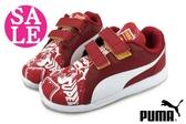 Puma 小童鞋 S超人 ST Trainer Evo Supeman Street PS 魔鬼氈 慢跑鞋 零碼出清 I9570#紅色◆OSOME奧森鞋業