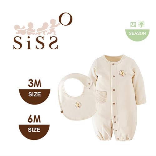 【SISSO有機棉】文小鳥超值禮盒(小桔) 3M 6M