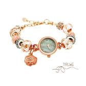 瑞士TRUeE 瑞時寶嘉 TC150476 精緻水晶串珠腕錶/ 19mm