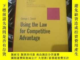 二手書博民逛書店Using罕見the Law for Competitive A