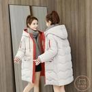 棉服女 冬季棉衣女韓版寬鬆羽絨棉服2020年新款冬裝面包服棉襖中長款外套【快速出貨】