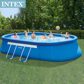 INTEX EASY SET泳池-附濾水泵26193+送幫浦66639