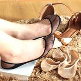 5雙裝 側邊淺口鞋透明隱形船襪蕾純薄棉水晶絲網眼女短襪子   蜜拉貝爾