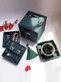 復古首飾盒歐式精致小號飾品盒公主簡約收納盒手飾盒珠寶盒化妝盒     印象家品旗艦店