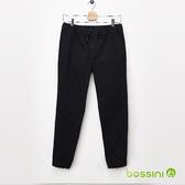 【歲末出清】保暖束口褲02黑-bossini男裝