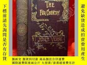 二手書博民逛書店【罕見】1873年紐約 出版,名著,凡爾納作品,《The Fur