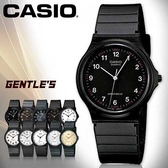 CASIO手錶專賣店 卡西歐 MQ-24-1B  男錶 中性錶 壓克力鏡面 學生必備指針數字 膠質錶帶