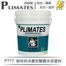 【漆寶】金絲猴│粉狀抗水壓矽酸質水泥塗料P-777 白色 (5加侖裝)
