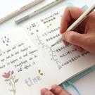 簽字手帳秀麗筆軟筆上色筆