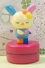 【震撼精品百貨】U-Sa-Ha-Na_花小兔~三麗鷗花兔子造型滾輪印章-站*03377