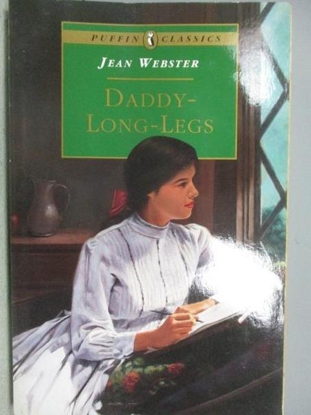 【書寶二手書T2/原文小說_MPC】Daddy Long Legs_Jean Webster