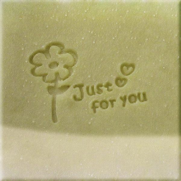 【香草工房】 風格皂章~A072 送你一朵花