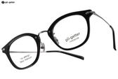 Go-Getter 光學眼鏡 GO5002 C02 (黑-槍銀) 韓系時尚潮流款 # 金橘眼鏡