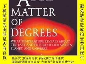 二手書博民逛書店A罕見Matter Of Degrees-度數問題Y436638 Gino Segre Penguin Boo
