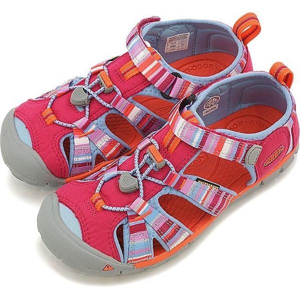 [好也戶外] KEEN SEACAMP II CNX兒童護趾涼鞋-彩虹 No.1016435