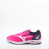 Mizuno  WAVE RIDER 21 JR 大童跑鞋 -粉 K1GC182502