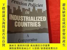 二手書博民逛書店Private罕見Pension Policies in Industrialized Countries: A