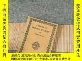二手書博民逛書店A罕見PRLMER OF SPOKEN ENGLISHY2351