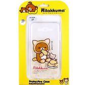 Rilakkuma 拉拉熊 Samsung Galaxy J7 / SM-J700 歡樂系列 彩繪透明保護軟套