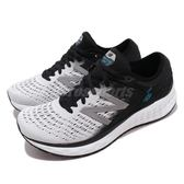 New Balance 慢跑鞋 1080 v9 NB 白 黑 舒適緩震 運動鞋 緩震跑鞋 男鞋【PUMP306】 M1080WB9D