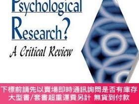 二手書博民逛書店Contextualism罕見In Psychological Research?Y255174 E. J.