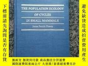 二手書博民逛書店The罕見Population Ecology of Cycles in Small Mammals: Mathe