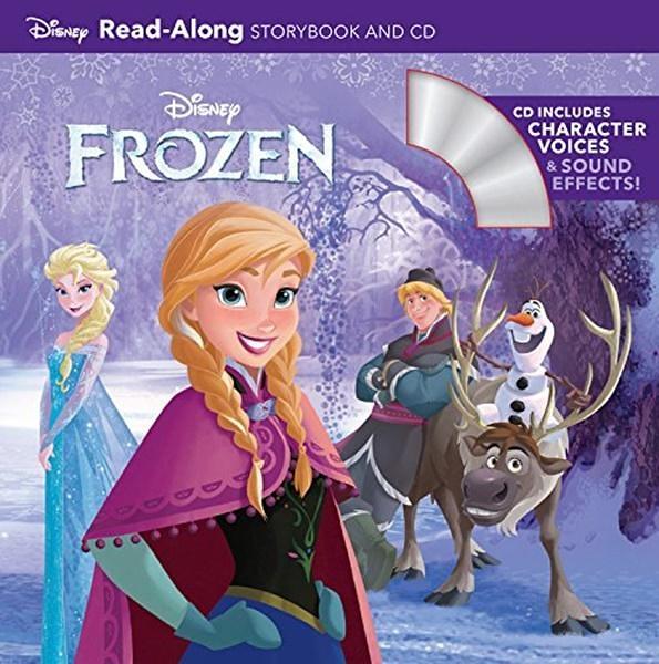 (二手書)Frozen: Read-Along Storybook and CD