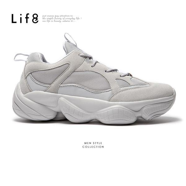 Life8-Sport 透氣網布 星球隕石紋運動鞋-09896