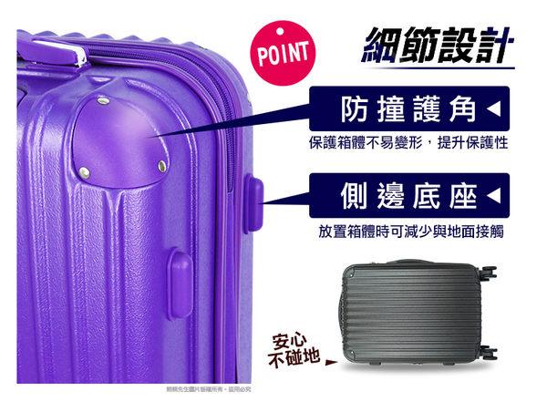 《熊熊先生》旅展推薦霧面硬殼拉桿箱行李箱E92雙排輪可擴充旅行箱24吋