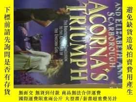 二手書博民逛書店Acorna s罕見Triumph 阿科納的勝利(英文原版小說)