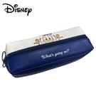 【日本正版】迪士尼 皮質 三層筆袋 鉛筆盒 筆袋 唐老鴨 奇奇蒂蒂 Disney - 193099