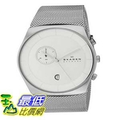 [104美國直購] Skagen 男士手錶 SKW6071 Havene Stainless Steel Watch with Mesh Band $7442