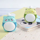 【BlueCat】可愛大肥肚LED夜燈USB充電風扇 手持風扇