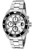 【INVICTA】 潛水員系列 - 經典三眼計時腕錶