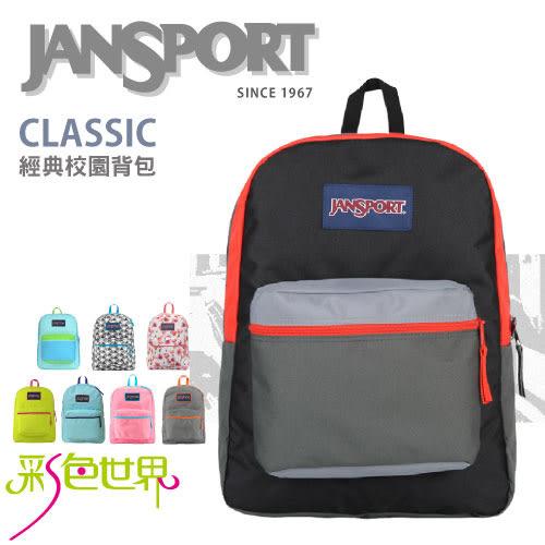 JANSPORT後背包包大容量防潑水JS-43502多色