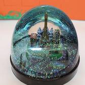 大號水晶球新品水中房子城堡安全帽建築筆插文鎮