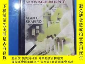 二手書博民逛書店MULTINATIONAL罕見FINANCIAL MANAGEMENTY207801 ALAN C.SHAPI