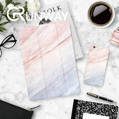 ipad pro9.7 平板 保護套 文藝 質感藍 粉色 大理石 ipad air 2 / 1 超薄mini4 / 3 皮套 保護殼