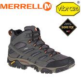 【MERRELL 美國 男款 MOAB 2 MID GORE-TEX《棕》】ML06059/休閒鞋/登山鞋/運動鞋