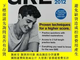 二手書博民逛書店Cracking罕見the New GRE, 2012 Edit