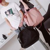 運動包短途旅行包女手提韓版行李袋男旅游登機包防水輕便側背斜背健身包 愛麗絲精品
