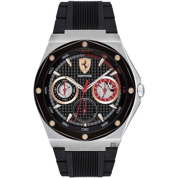 Scuderia Ferrari 法拉利 奔馳日曆手錶-42mm 0830556