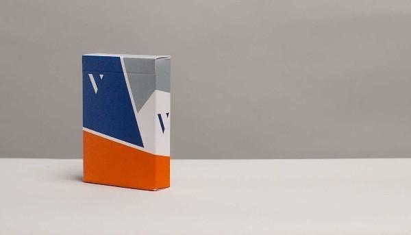 【USPCC 撲克】Virtuoso deck(橘藍灰) V2 花切撲克牌