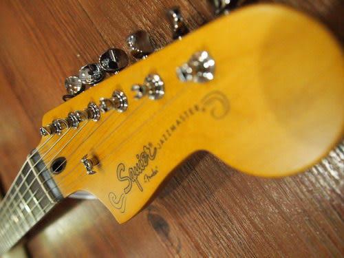 凱傑樂器 Fender squier jazzmaster 電吉他 展示琴出清